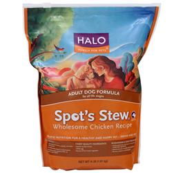 Halo Spot's Stew - Adult Dog Formula Wholesome Chicken Recipe 4 lbs