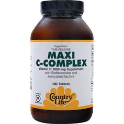 Country Life Maxi C-Complex 180 tabs