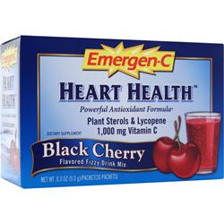 ALACER Emer'gen-C Heart Health Black Cherry 30 pckts