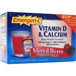 ALACER Emer'gen-C Bone Health Formula Mixed Berry 30 pckts
