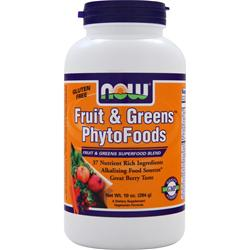 Now Fruit & Greens Phytofoods 10 oz