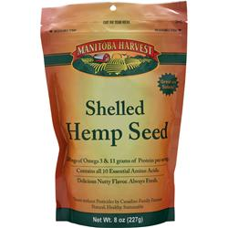 MANITOBA HARVEST Shelled Hemp Seed 8 oz