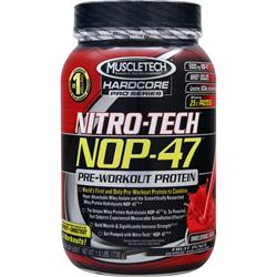 MUSCLETECH Nitro-Tech NOP-47 Fruit Punch 1.6 lbs