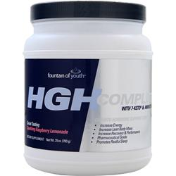 HIGH ENERGY LABS Fountain of Youth HG Complete Powder Raspberry Lemonade 700 gr