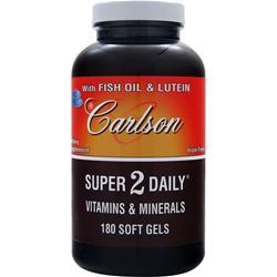 CARLSON Super 2 Daily 180 sgels