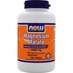 NOW Magnesium Malate (1000mg) 180 tabs