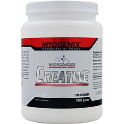 MYOGENIX Micronized Creatine 1000 grams