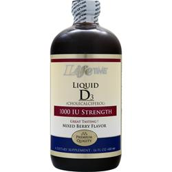 Lifetime Liquid D3 (1000IU) Mixed Berry 16 fl.oz