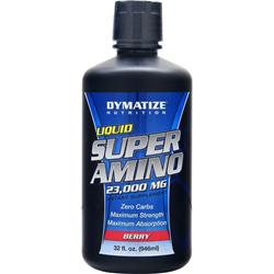 DYMATIZE NUTRITION Liquid Super Amino (23000mg) Berry 32 fl.oz