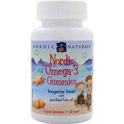 NORDIC NATURALS Nordic Omega-3 Gummies Tangerine 60 gummy