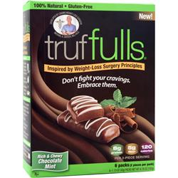 FULL BAR TrufFulls Chocolate Mint - 6 pck