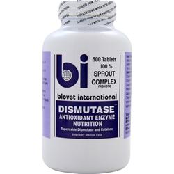 BIOTEC FOODS Biovet International - Dismutase 500 tabs