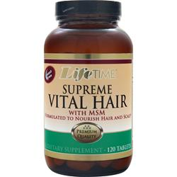 LIFETIME Supreme Vital Hair 120 tabs