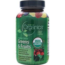 Irwin Naturals Organics - Greens & Fruits 60 tabs