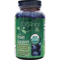 IRWIN NATURALS Organics - Brain Support 60 tabs
