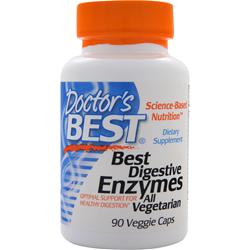 DOCTOR'S BEST Best Digestive Enzymes 90 vcaps