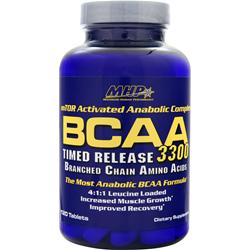 MHP BCAA 3300 - Timed Release 120 tabs