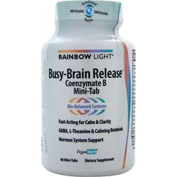 RAINBOW LIGHT Busy-Brain Release - Coenzymate B 60 tabs