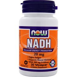 NOW NADH (20mg) 30 vcaps