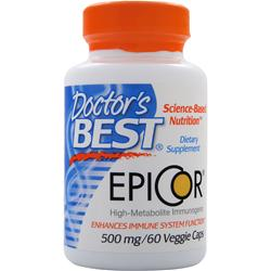 DOCTOR'S BEST Epicor (500mg) 60 vcaps