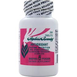 BIOTEC FOODS Ageless Beauty Antioxidant Enzyme Nutrition 200 tabs