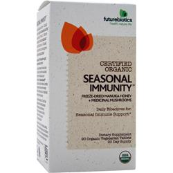 Futurebiotics Certified Organic - Seasonal Immunity 90 tabs