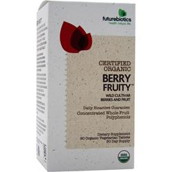 FUTUREBIOTICS Certified Organic - Berry Fruity 90 tabs
