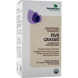 FUTUREBIOTICS Certified Organic - Five Grasses 90 tabs