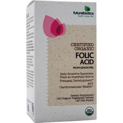 FUTUREBIOTICS Certified Organic - Folic Acid 120 tabs