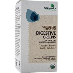FUTUREBIOTICS Certified Organic - Digestive Greens 90 tabs