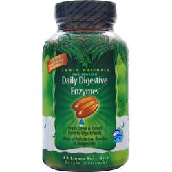 IRWIN NATURALS Daily Digestive Enzymes 45 sgels