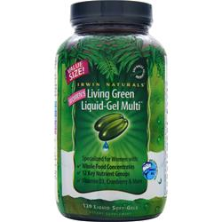 IRWIN NATURALS Women's Living Green Liquid-Gel Multi 120 sgels