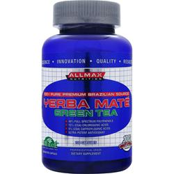 ALLMAX NUTRITION Yerba Mate Green Tea 100 caps