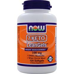 Now 7-Keto LeanGels 120 sgels