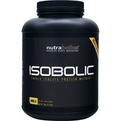 NUTRABOLICS IsoBolic Vanilla 5 lbs