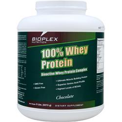 BIOPLEX NUTRITION 100% Whey Protein Chocolate 5 lbs