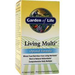 GARDEN OF LIFE Living Multi - Optimal Formula 252 cplts