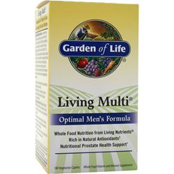 Garden Of Life Living Multi - Optimal Men's Formula 180 cplts