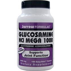 JARROW Glucosamine HCl Mega 1000 100 tabs