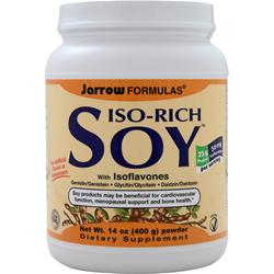 Jarrow Iso-Rich Soy with Isoflavones 400 grams