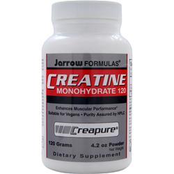 JARROW Creatine Monohydrate 120 (Creapure) 120 gr