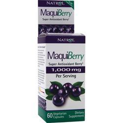 NATROL Maqui Berry 60 vcaps