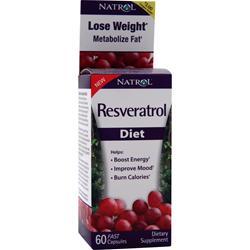 NATROL Resveratrol Diet 60 caps