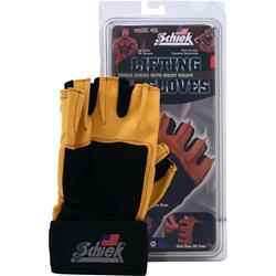 SCHIEK SPORTS Lifting Gloves Power Series with Wrist Wraps Medium 2 glove
