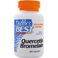 Doctor's Best Quercetin Bromelain 180 caps