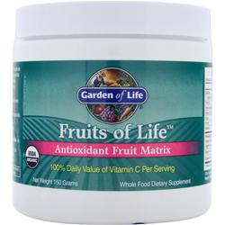 GARDEN OF LIFE Fruits of Life - Antioxidant Fruit Matrix 150 grams