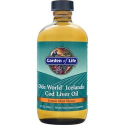 Garden Of Life Olde World Icelandic Cod Liver Oil Lemon Mint 8 fl.oz