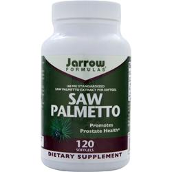 JARROW Saw Palmetto 120 sgels