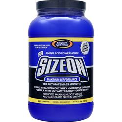 GASPARI NUTRITION SizeOn Maximum Performance Arctic Lemon Ice 3.49 lbs