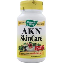 Nature's Way AKN SkinCare 100 caps
